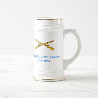 Dragoon Beer Stein Coffee Mug