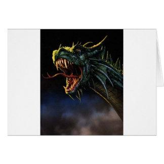 Dragoon Greeting Card