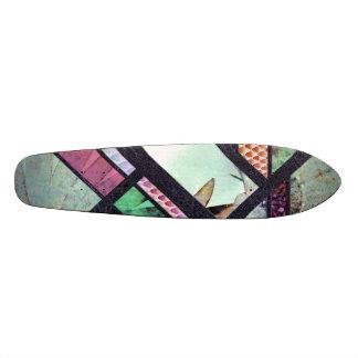 Dragoon to flower skate deck