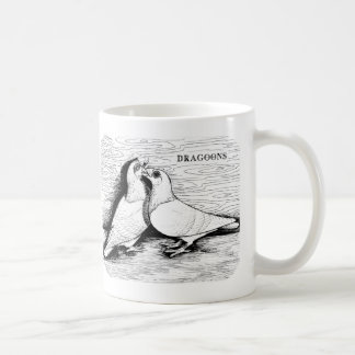 Dragoon White Pair Basic White Mug