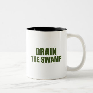 Drain the Swamp Black 11 oz Two-Tone Mug