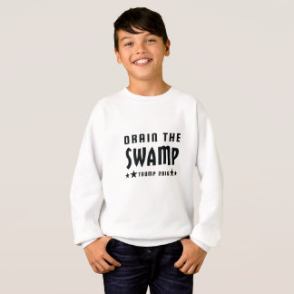 Drain The Swamp Donald Trump Presidential Sweatshirt