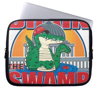 Drain The Swamp in Washington Laptop Sleeve