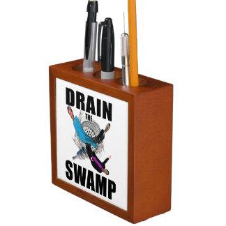 Drain the Swamp President Trump Desk Organiser