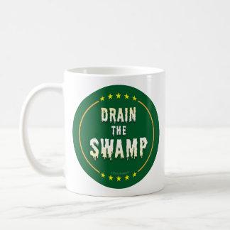 DRAIN THE SWAMP Stop Bad bureaucrats & Politicians Coffee Mug