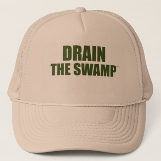 Drain The Swamp Trucker Hat