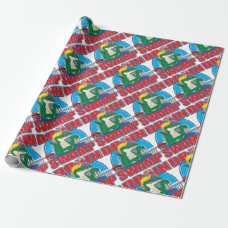 Drain-The-Swamp Wrapping Paper