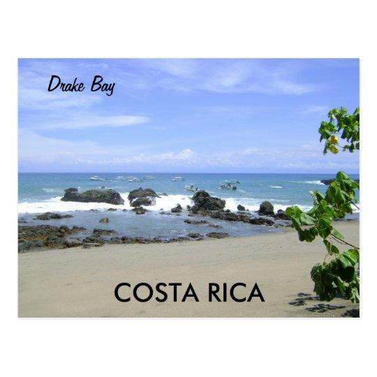 Drake bay, Osa Peninsula, Costa Rica Postcard