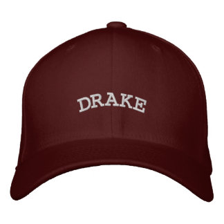 DRAKE EMBROIDERED HAT