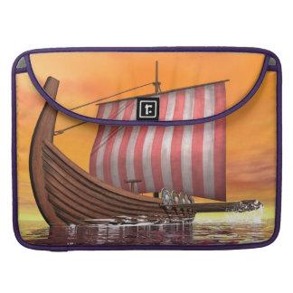 Drakkar or viking ship - 3D render MacBook Pro Sleeves