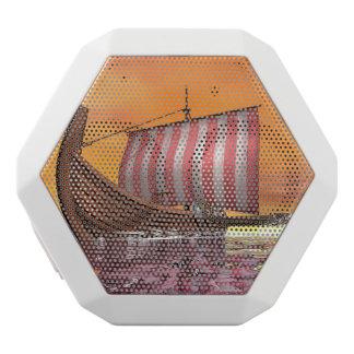Drakkar or viking ship - 3D render White Bluetooth Speaker