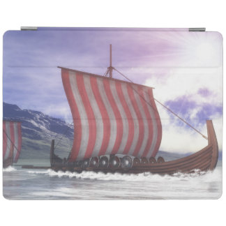 Drakkars - 3D render iPad Cover