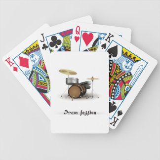 Dram session bicycle playing cards