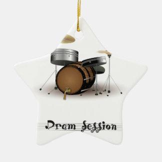 Dram session ceramic ornament