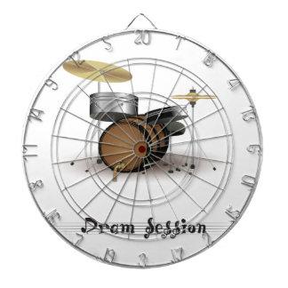 Dram session dartboard