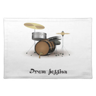 Dram session placemat