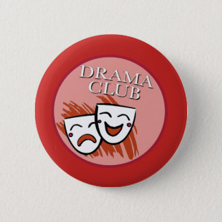 Drama Club Badge in Red