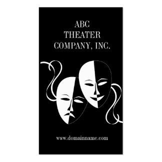 Drama Club or Actress Actor Business Card