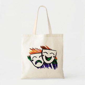 Drama Color Splash Tote Bag