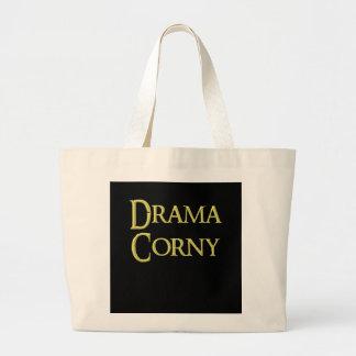 Drama corny bag, for sale ! large tote bag