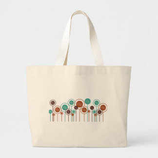 Drama Daisies Large Tote Bag