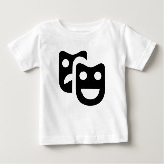 Drama Faces Baby T-Shirt