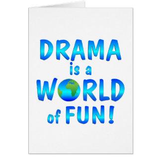 Drama Fun Card