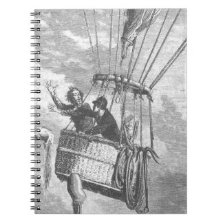 Drama in a Hot Air Balloon Notebook