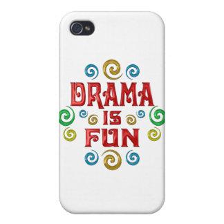 Drama is FUN iPhone 4 Case