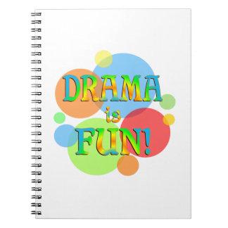 Drama is Fun Notebooks