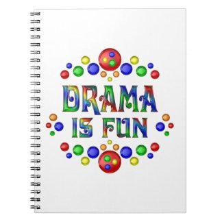 Drama is Fun Spiral Notebook