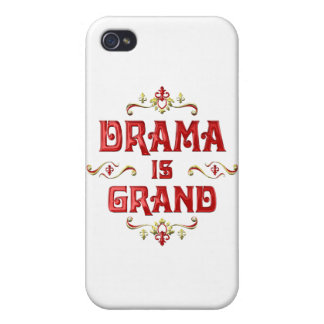 Drama is Grand Cover For iPhone 4