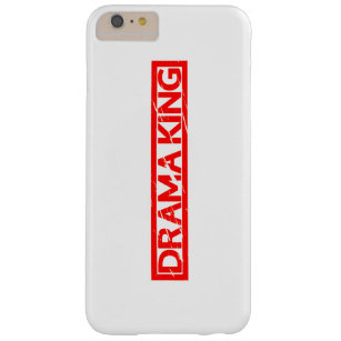 Drama King Stamp Barely There iPhone 6 Plus Case