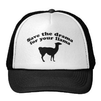 Drama Llama Hat
