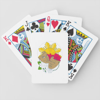Drama Mask Philippine Sun Hibiscus Sampaguita Flow Bicycle Playing Cards