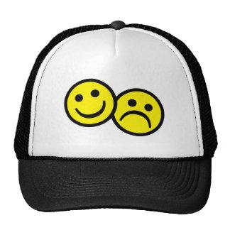 Drama Mask Smiley's Cap