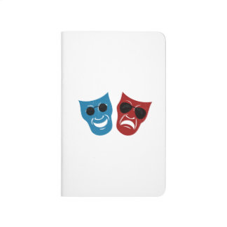 Drama Masks with Sunglasses Journal