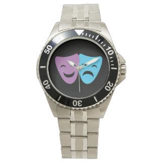 Drama Masks Wrist Watches