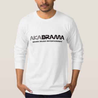 Drama Musik Entertainment aka Drama grey, long T-Shirt