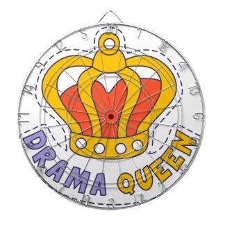 Drama Queen Crown Dartboard