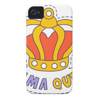 Drama Queen Crown iPhone 4 Case-Mate Cases
