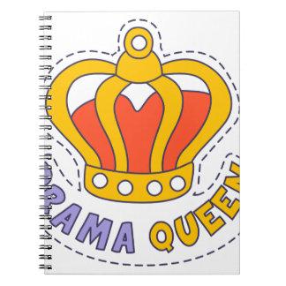 Drama Queen Crown Notebook