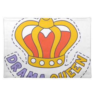 Drama Queen Crown Placemat