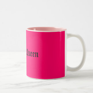 Drama Queen Two-Tone Coffee Mug