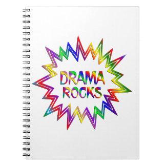 Drama Rocks Notebooks