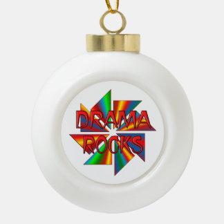 Drama Rocks Ornaments