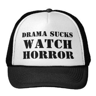 Drama Sucks Watch Horror Hat