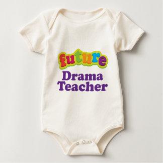 Drama Teacher (Future) Pacifier Gift Baby Bodysuit