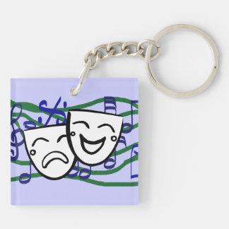 Drama: the Musical Key Ring