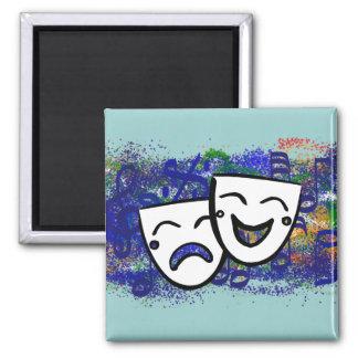 Drama: the Musical Splash Magnet